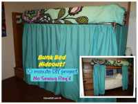 bottom bunk curtains - Home The Honoroak