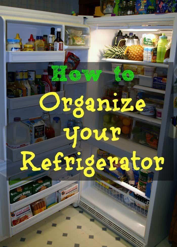 How to Organize Your Refrigerator - iSaveA2Z.com