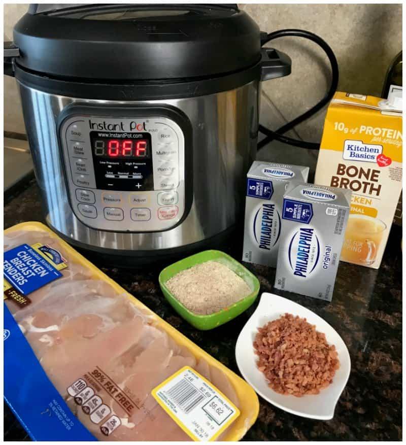 Instant Pot Keto Crack Chicken Recipe - iSaveA2Z.com