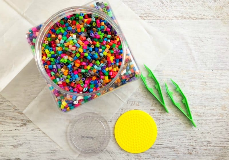 Perler Circle Bead Make