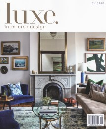 ' In Two Luxe Magazine Features July August