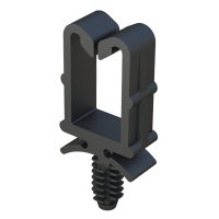Wire holder and cable holder - ISC Plastic Parts