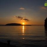 Lo spettacolo dell'alba a Ischia