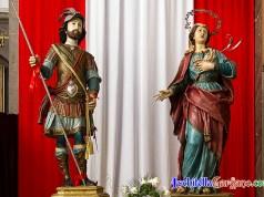 Sant'Eustachio e Santa Teopista