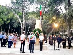 Inaugurazione monumento caduti Vico del Gargano