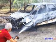 Incendio auto Ischitella