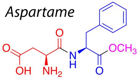 800px-Aspartame-residues