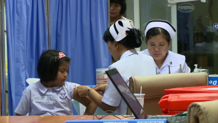 dengue vaccine clinic 5832021198_2a05e3c748_b