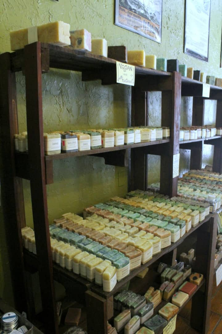 soap shop in Eureka Springs