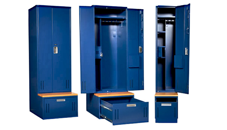 Tactical Police Lockers  Law Enforcement Gear Storage  ISDA