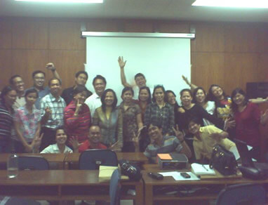 Batch 1 of the Introduction to Social Entrepreneurship Course