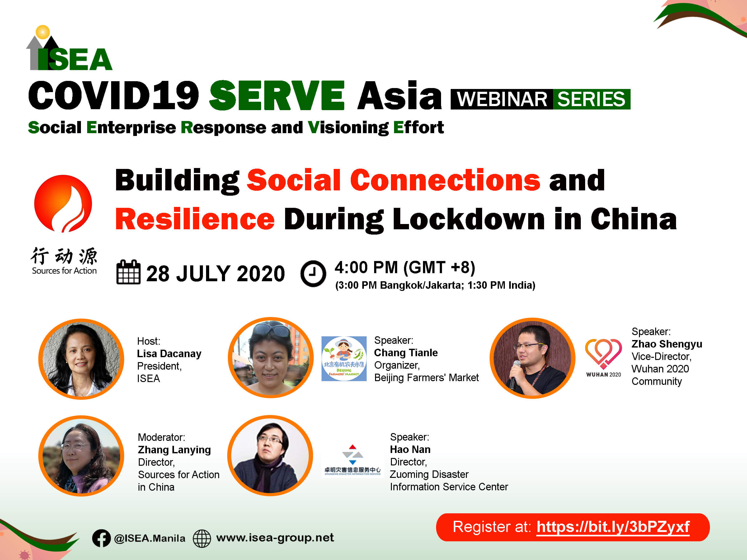 COVID SERVE Asia Webinar: Building Social Connections and Resilience During Lockdown in China
