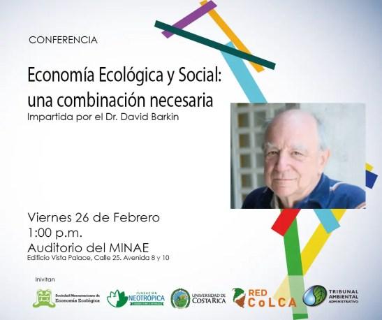 Economía ecológica y social, una combinación necesaria