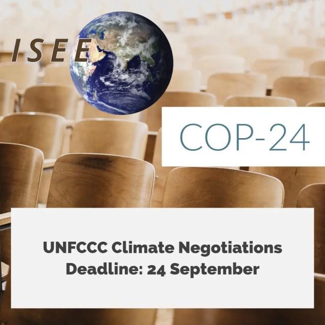 COP24 UNFCCC September 24