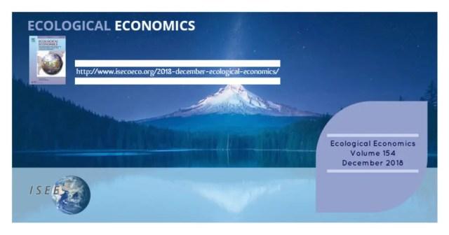 2018 December Ecological Economics Journal