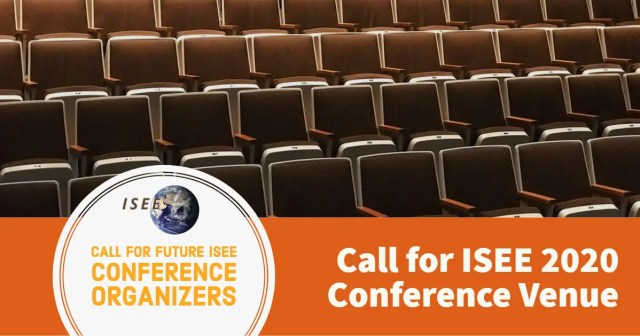 Call for 2020 ISEE Conference Venue