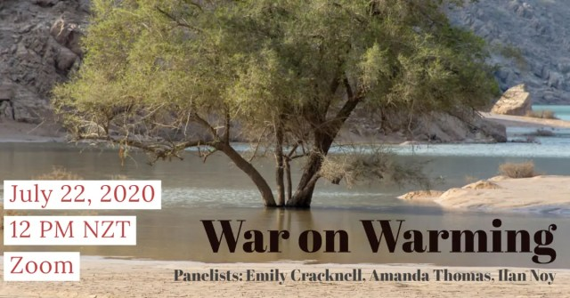 Second of the ANZSEE webinar - War on Warming
