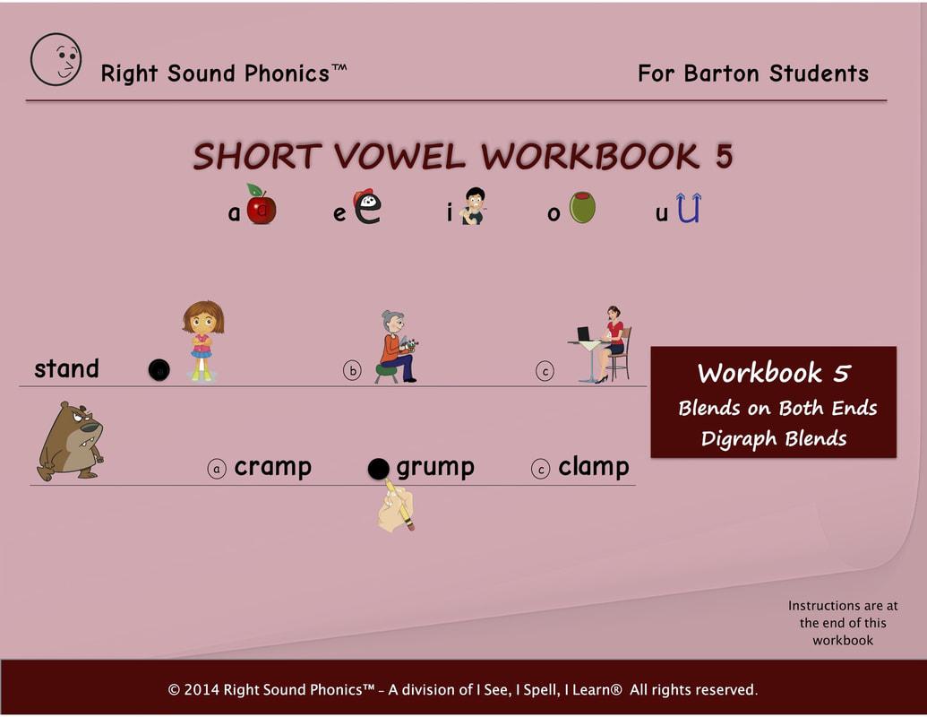 Sight Words Amp Short Vowel Workbooks For Barton Students