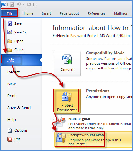 How to Unlock A Password-Protected MS Word Document