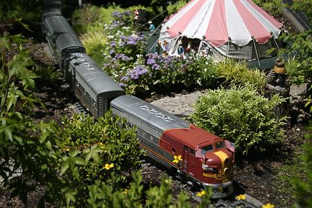 Garden Railway at the Chicago Botanic Garden