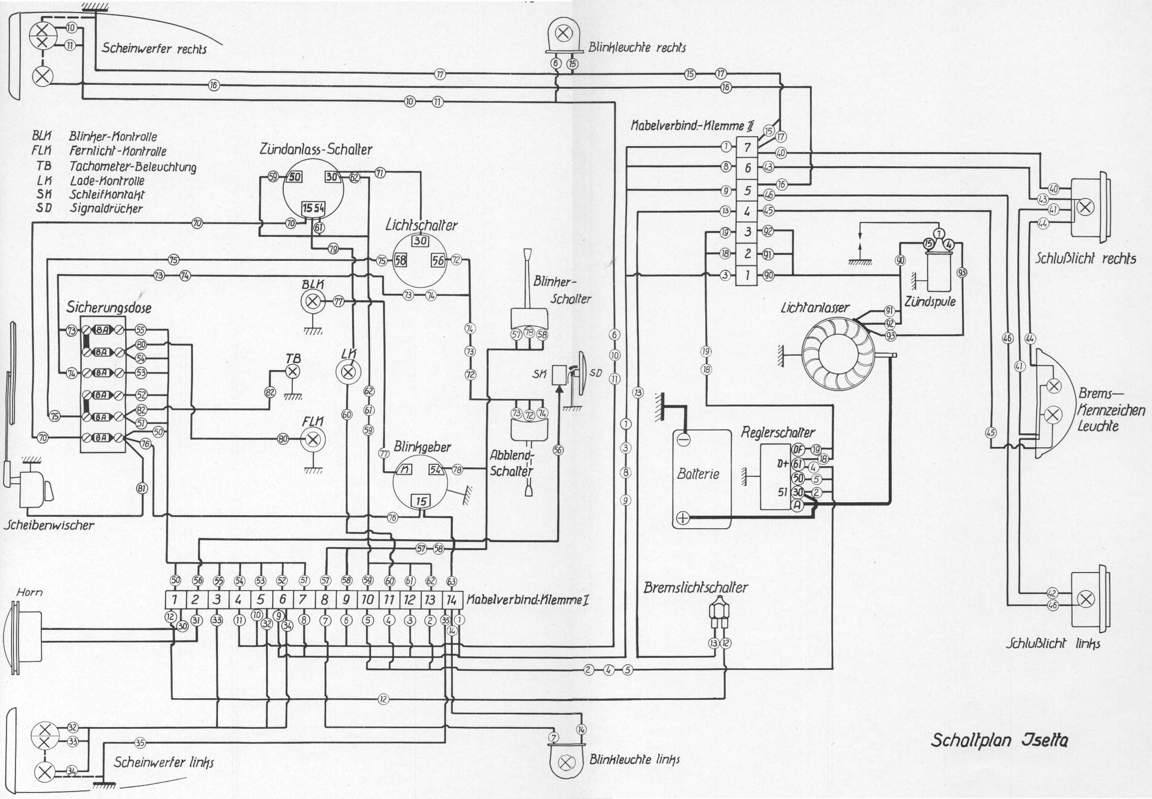 dynastart wiring diagram les paul jr p90 isettas in south carolina