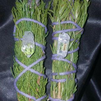 Cedar smudges