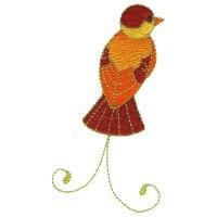 Free Embroidery Design: Bird | I Sew Free