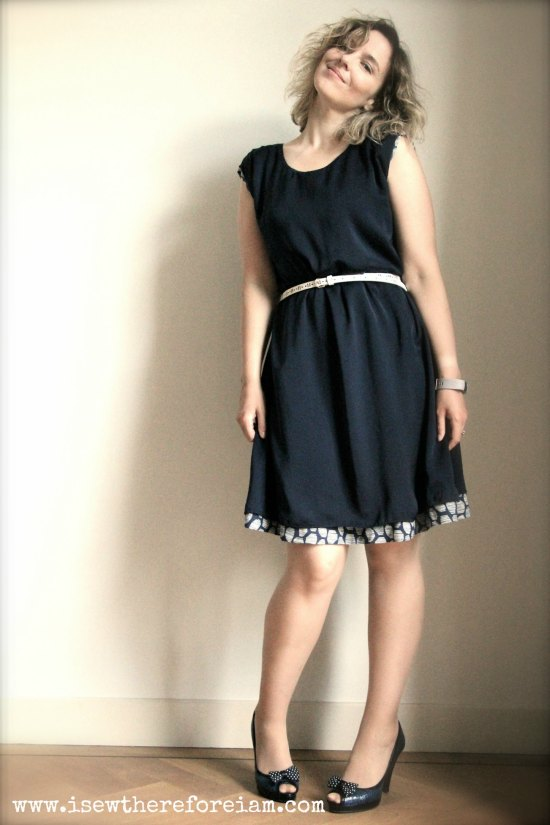 The reversible Tokyo dress by Atelier Scammit