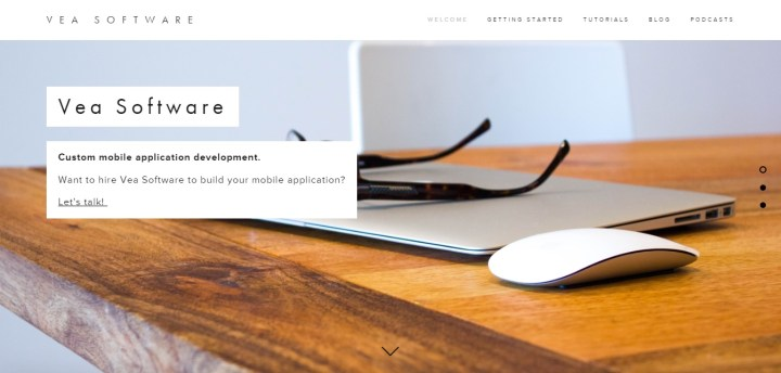 Vea Software Website