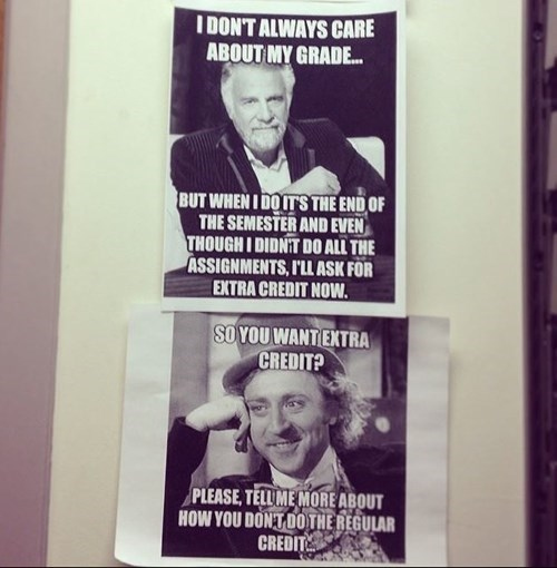Teachers Are Harsh Users of Memes
