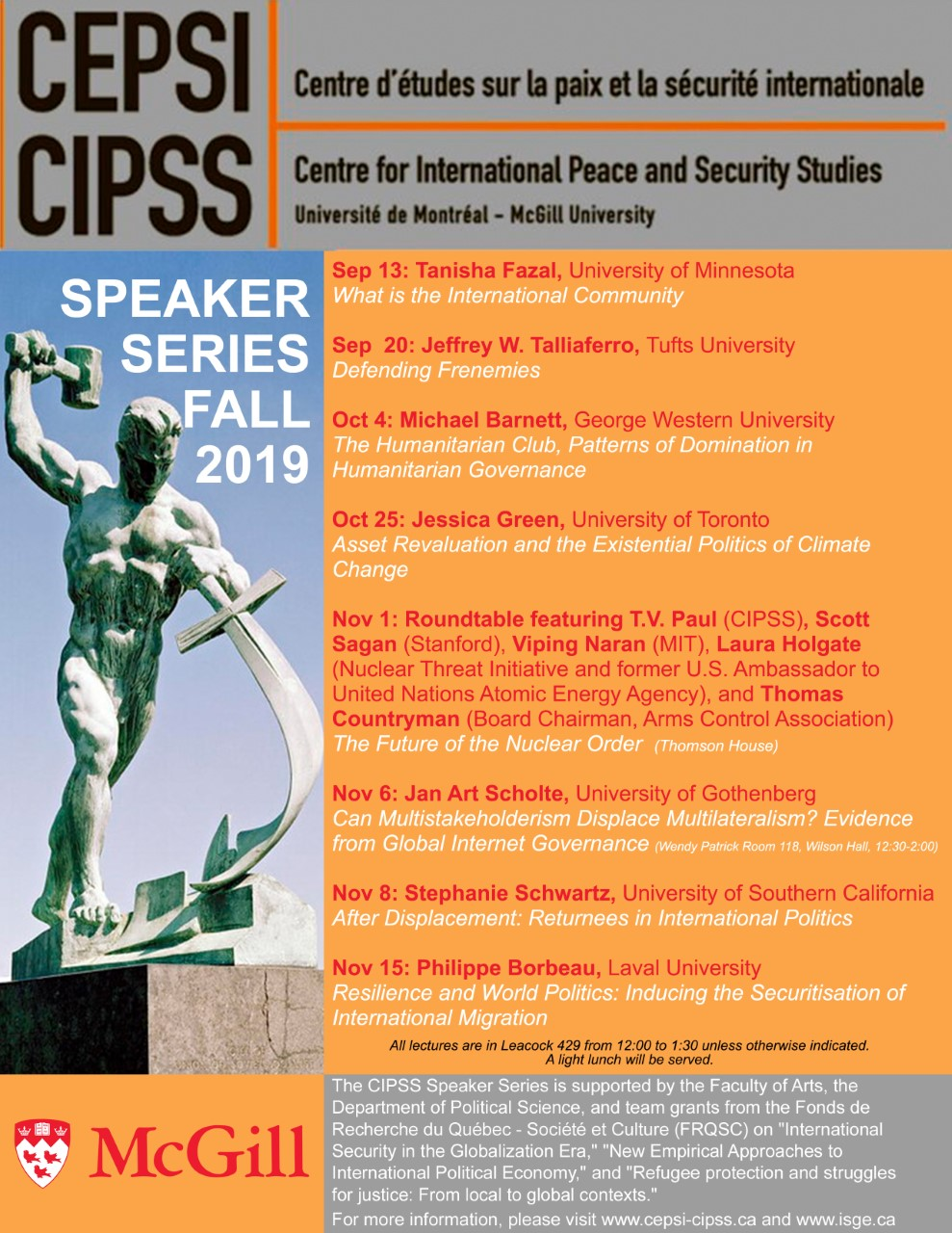 Events International Security In The Globalization Era