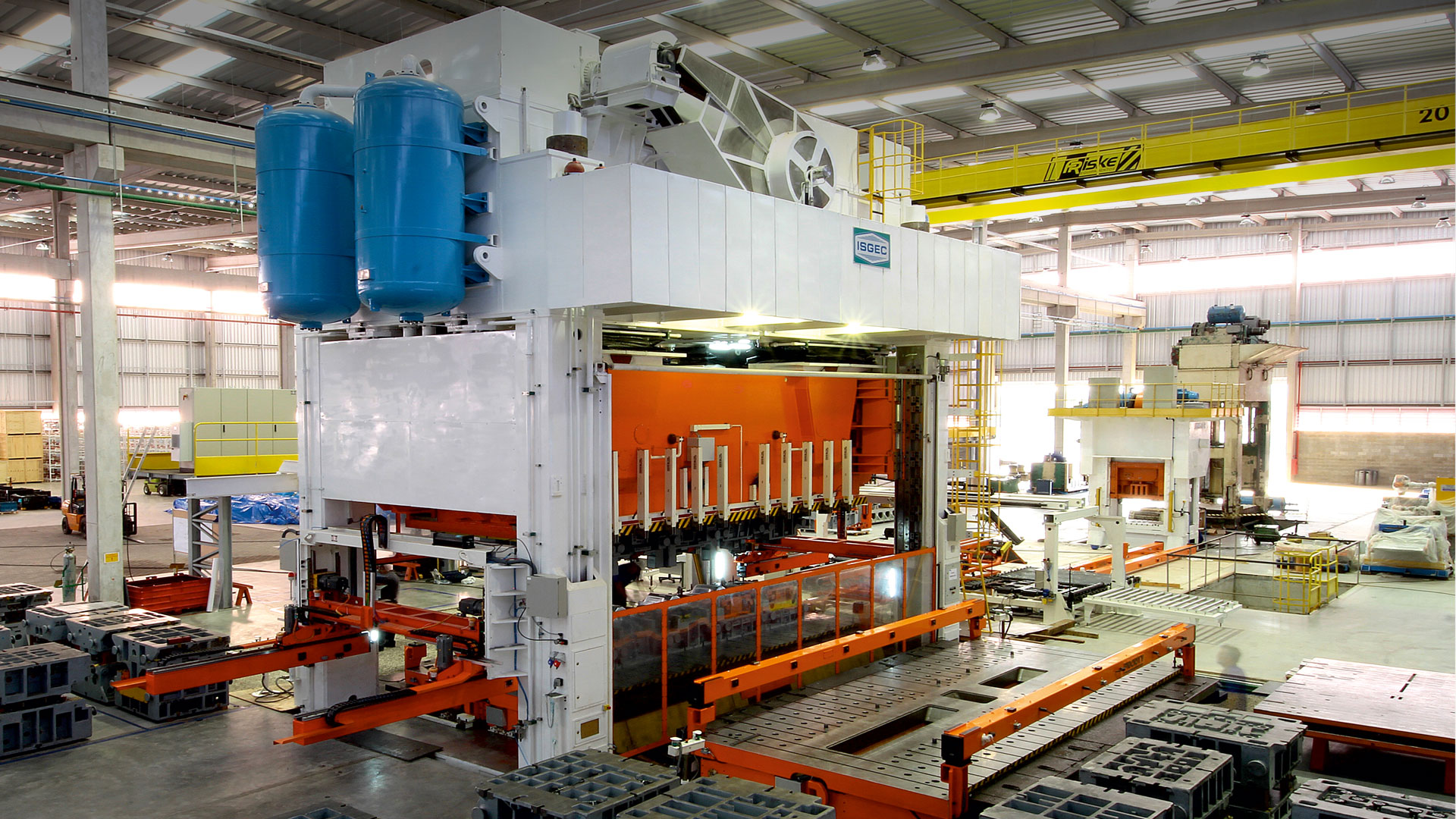 isgec stamping press manufacturers