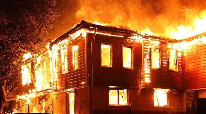 ev yangınları