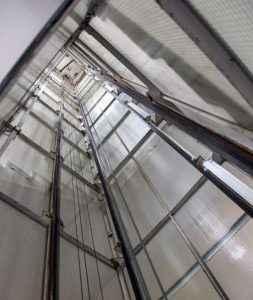 asansor boşluğu
