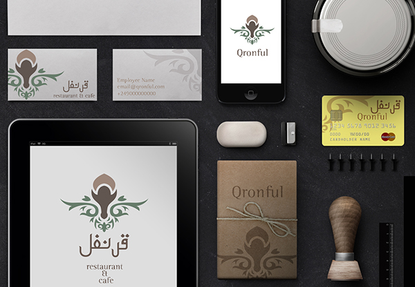 Restaurant Logo design Cafe in Arabia