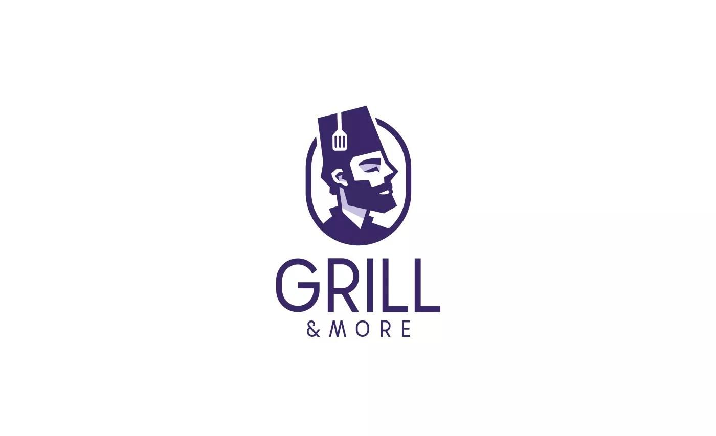 Arabic Restaurant Logo Pacaking Lable Branding Design