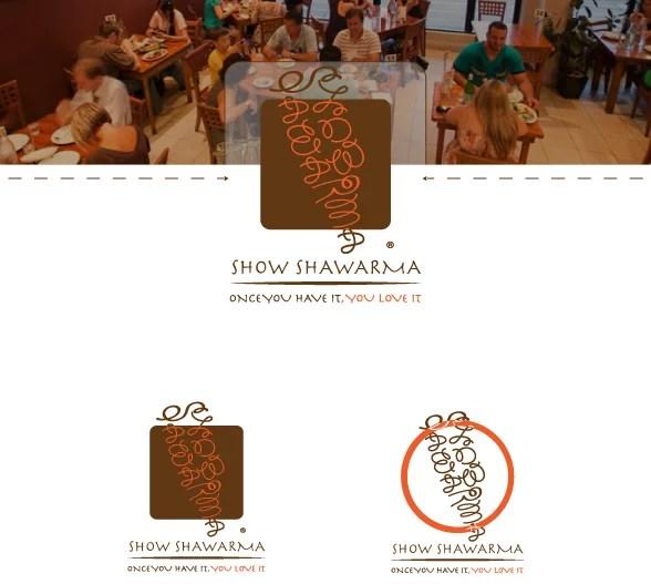 Shawarma Restaurant Logo Design Example