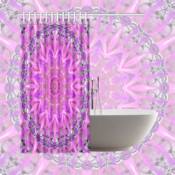 """Lavender Lace Abstract Pink Light Love Lattice 