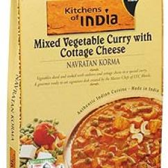 Kitchens Of India Kitchen Dicer Slicer Navratan Korma Mixed Vegetable Curry With Cottage Cheese Ready To