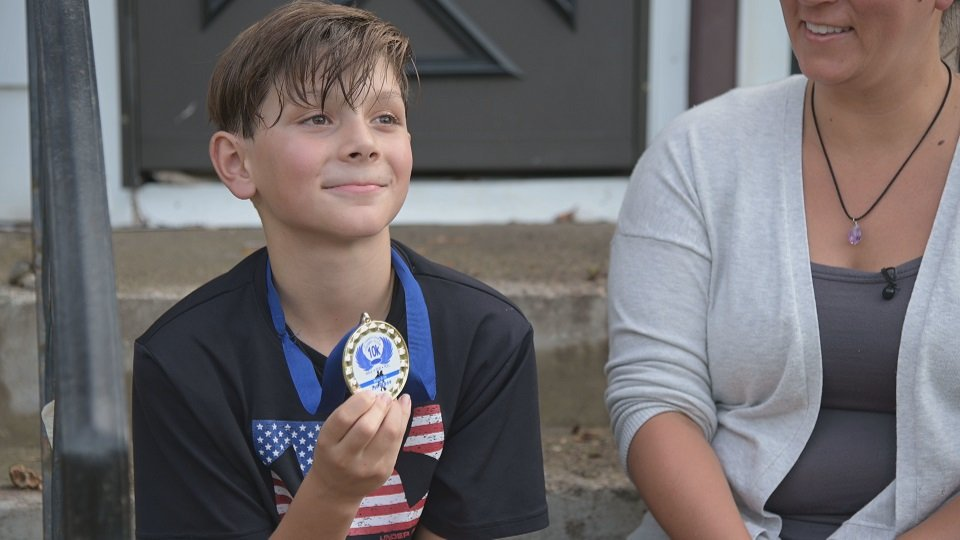 Nine-year-old accidentally wins 10K