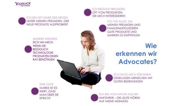 Yahoo Brand Advocates Studie