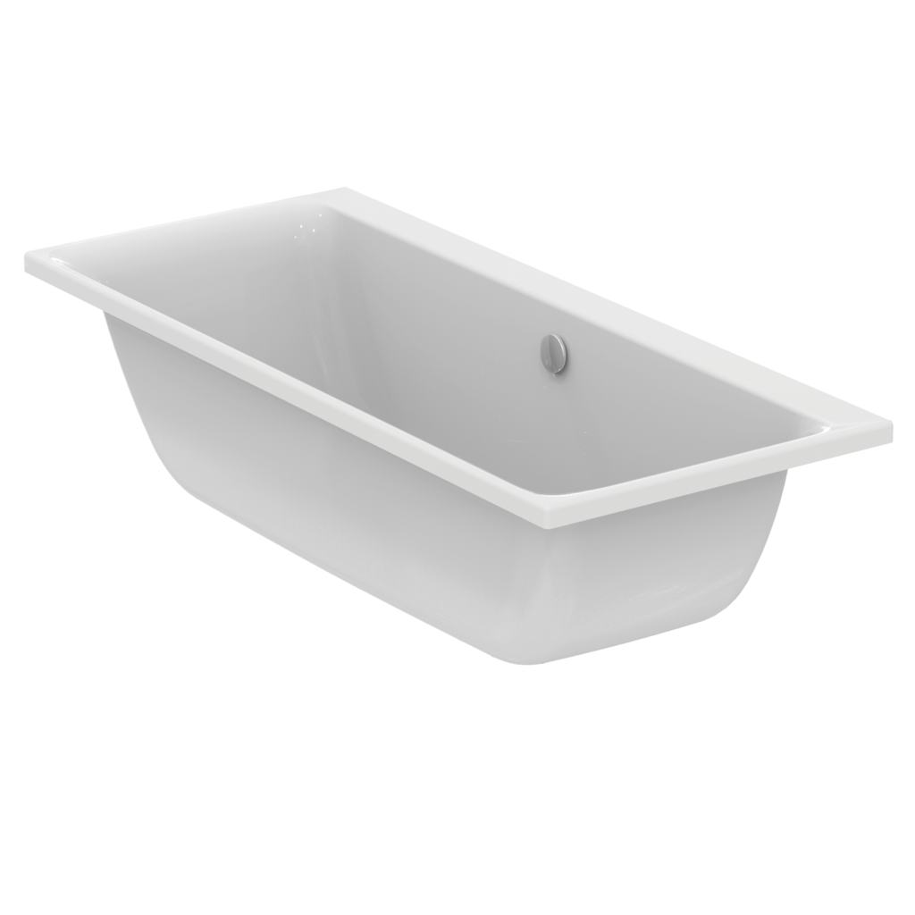 ideal standard e1066 rectangular double ended bathtub 170x75 cm for built in installation only
