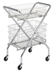 Multi-Purpose Folding Cart Frame: 19-1/2