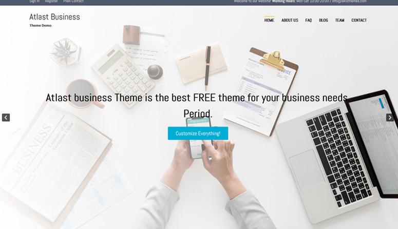 Atlast-business wordpress-tema