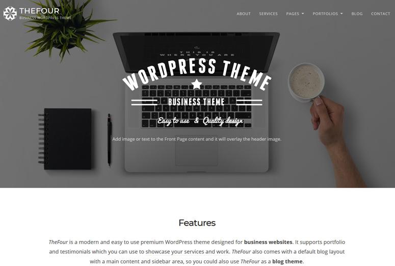thefour-wordpress-tema