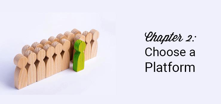 il capitolo 2 sceglie una piattaforma di blog