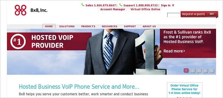 8x8 Servizio telefonico aziendale