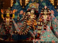 Sri Sri Radha Govind with Gauranga