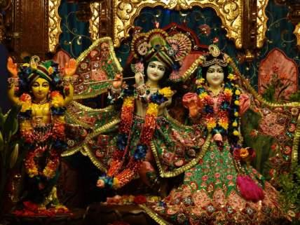 Sri Sri Radha Govind with Gauranga