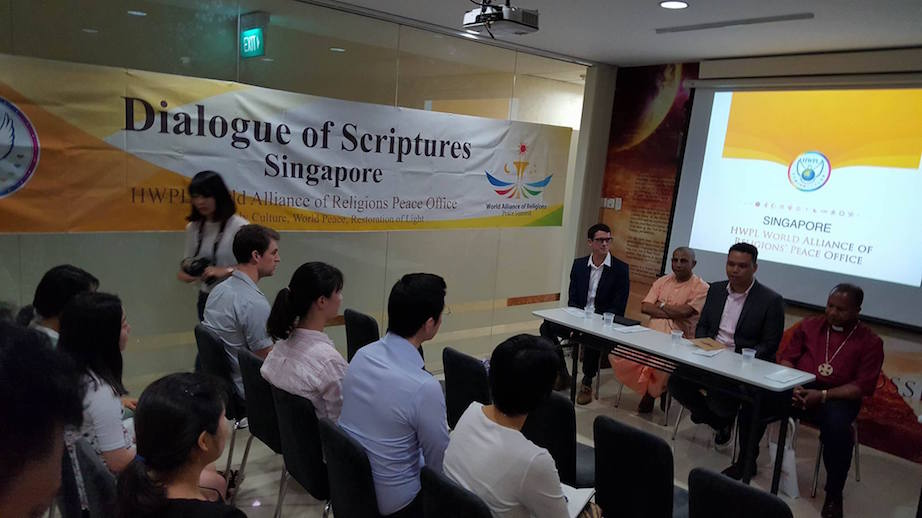 World Peace Formula Presentation At The 'Dialogue of Scriptures' Summit